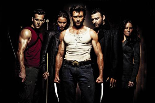 Deadpool, Gambit, Wolverine, Sabrettoh, Kayla